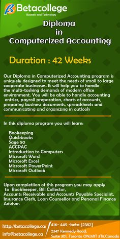 Accounting Programs, Office Environment, College, Technology, Business, Tech, University, Tecnologia