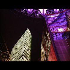 Smells like 'Blade Runner' // Berlin - Potsdamer Platz (November, 2011)