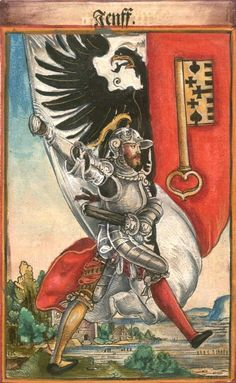 "Genf [Jenff] (= Genève) (f°63) -- Koebel, Jacob, ""Wapen des heyligen römischen Reichs teutscher Nation"", Franckfurth am Main, 1545 [BSB Ms. Rar. 2155]"