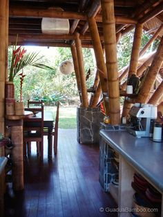 Tropical Guadua Bamboo House in Costa Rica