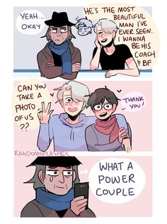 YOI: WHAT A POWER COUPLE by Randomsplashes