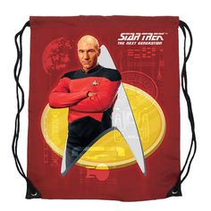 BLOG DOS BRINQUEDOS: Star Trek: The Next Generation Capitão Picard Red ...