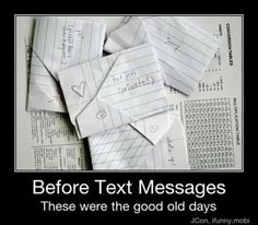 yes, the good ol days!