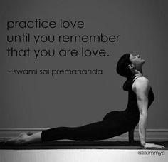 Practica el amor: Yogibe.
