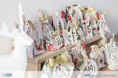 Calendario de Adviento con cajas sorpresa
