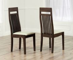 Mark Harris Monte Carlo Solid Dark Oak Dining Chair   Cream Leather Seat   Pair Mark Harris Havana Oak Dining Chair   Cream Bycast Leather Seat  . Oak Dining Chairs With Cream Leather Seats. Home Design Ideas