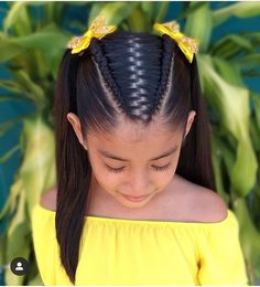 ✔ Hairstyles Easy Videos Volleyball – Hairstyle of real girls Cute Little Girl Hairstyles, Girls Natural Hairstyles, Kids Braided Hairstyles, Flower Girl Hairstyles, Easy Hairstyles For Long Hair, Diy Hairstyles, Natural Hair Styles, Long Hair Styles, Easy Hairstyle Video