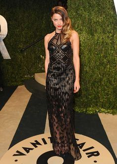 Amber Heard: Now and Then - Amber Heard in Versace Couture