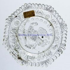 Lot #1047  	LEE/ROSE NO. 677-G CUP PLATE