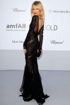 Natasha Poly in Emilio Pucci at amfAR Gala during the 65th Annual Cannes Film Festival 2012