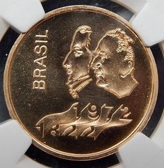 1972 Brazil 300 Cruzeiros Independence Graded By Ngc As Ms-66 Gold Coi – Gold Stream Boutique