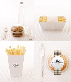High Fashion MacDonald's Meal