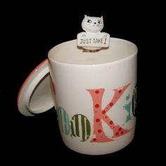 Vintage Pop Up Holt Howard Cozy Kitten Cookie Jar Cat Condiment Pixie Canister Cat Cookie Jar, Cookie Jars, Love Vintage, Vintage Cat, Retro Renovation, Vintage Mermaid, Vintage Cookies, Cat Mug, Antique Stores
