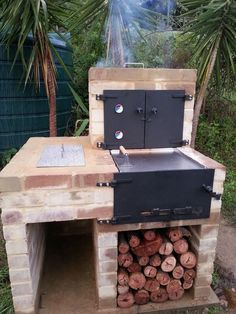 Finally finished my BBQ/Oven/Smoker contraption!  	   	I designed myself it as a multi purpose...