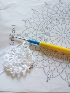 Crochet Snowflake Pattern, Christmas Crochet Patterns, Holiday Crochet, Crochet Snowflakes, Crochet Mandala, Crochet Patterns Amigurumi, Crochet Doilies, Crochet Christmas Decorations, Crochet Ornaments