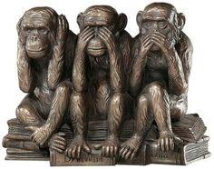 The Hear-No, See-No, Speak-No Evil Monkeys