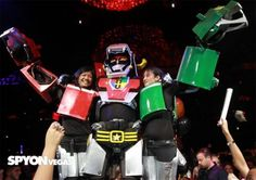 It Takes Five People Coming Together to Form Voltron, the Defender of the Universe