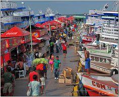 Porto de Manaus - Manaus, Amazonas - The Port of Manaus (Porto de Manaus).