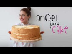 Angel Food Cake (Bolo de Claras) - YouTube Angel Cake, Angel Food Cake, Bolo Diet, Cake Business, How Sweet Eats, Vanilla Cake, Food And Drink, Cupcakes, Sweets