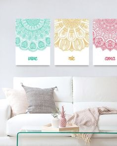 Ideas to decorate with mandalas - Decoration for Home