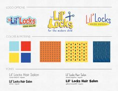 Lil Locks Branding