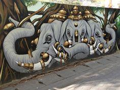 Road Trip Thailande Chiang Mai Street Art