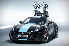 Team Sky Jaguar F-Type Unveiled For Tour de France Sports The Sexiest Bike  Rack 98195b4be