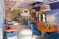 Burgers & Cocktails by Giraffe Restaurant & Bar Design Awards 2013 winner Castleford / Regno Unito