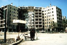 April 18, 1983: The US Embassy in Beirut, Lebanon is attacked when a suicide car bomber detonates his explosive packed vehicle killing over 60 people, mostly embassy staff members, U.S. Marines and Sailors.