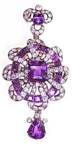 Ametista produz joias lindas