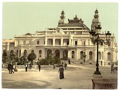 Monte Carlo Casino, Monaco (Riviera)