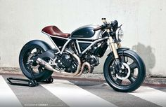 SPECIAL: Ducati Scrambler Hero 01 by Holographic Hammer