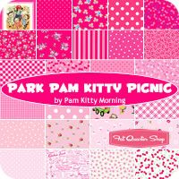 River Pam Kitty Picnic Fat Quarter Bundle Pam Kitty Morning for Lakehouse Dry Goods