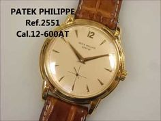 PATEK PHILIPPE vintage watch ref.2551