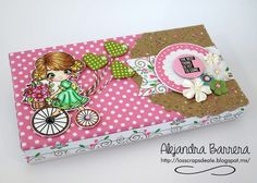 Los Scraps de Ale: Reto 55 Latinas Arts and Crafts: 1x3