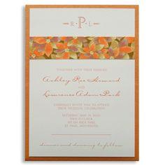 Ashley & Laurence Wedding Invitations by honey-paper.com #wedding #invitations #marsupial