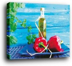 Pepper wall art, wildly popular and incredibly cute.  Great for kitchen wall decor and compliments most home decor theme from rustic, vintage, country and especially modern.   Consider combining pepper wall clocks, pepper decorative signs, along with #pepper canvas art to create a pepper kitchen theme or better yet culinary wall decorations.  1art1®️️ Cuisine Wood Mounted Poster Art Print - Peppers, Amélie Vuillon (20 x 16 inches)