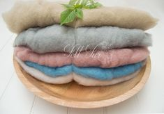 """This is the last review in our Etsy shop. Thanks for the kind words! ★★★★★ """"These are so soft and so fluffy!! Can't wait to use them with my babies!"""" Erica M. http://etsy.me/2E9B7LV   #feltfur #photographyprop"""