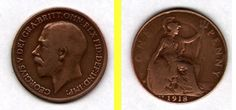 RARE 1918 KN British Penny in Good Condition These are coins are in a clean and suitable condition. They are currently on auction now. All the proceeds from this auction go towards Saint Francis Hospice! Please bid now! Rare British Coins, Saint Francis, Hospice, Auction, Personalized Items, Ebay, St Francis, San Francisco