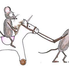 'Mäusegeschwister' by Sascha Kläger Illustration, Art, Siblings, Sheep, Friends, Art Background, Kunst, Illustrations, Performing Arts