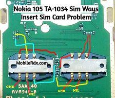 Nokia 105 Sim Ways Insert Sim Card Problem Solution Nokia 105 Sim Cards Jumper Sim Not Working Problem Repair Solution Sim Ways Sim Problem Nokia Iphone Repair, Mobile Phone Repair, Nokia 230, Cell Phone Covers, Phone Case, All Mobile Phones, Samsung Mobile, Circuit Diagram, Problem And Solution