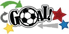 Goal! SVG scrapbook title soccer svg file free svg files soccer ball svgs sports svg files svg cuts