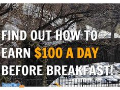 Cup of Coffee, Check Your email for Money ... sounds like fun... Rake in $100 or more a Day Before Breakfast! 1. Join JobOpp. 2. Promote Your Site. 3. Get Paid! Nothing Easier ...