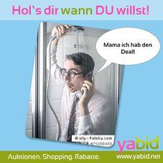 An alle #Warmduscher: Auf #Yabid bestimmst du das #Ende der #Auktion! Hol's dir wann DU willst! www.yabid.net