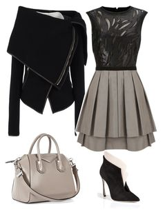 """""""Untitled #139"""" by heather-smith-iv ❤ liked on Polyvore featuring Sergio Rossi, Gareth Pugh and Givenchy"""