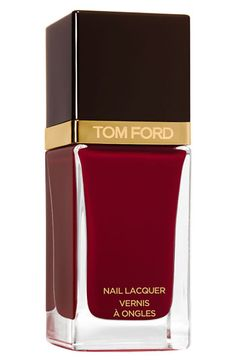 Tom Ford // Nail Lacquer // Smoke Red Nail Polish