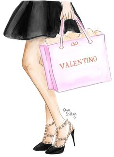 Shopping for Valentino