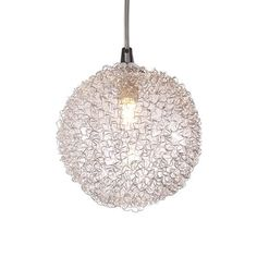 A perfect mix of glass and metal, this Roma Pendant Lamp casts a warm glow on any tabletop or space. Hang it above a reading nook, dining table, or coffee table, and up the elegance of your space insta...  Find the Roma Pendant Lamp, as seen in the Groove Back To The '70s  Collection at http://dotandbo.com/collections/groove-back-to-the-70s?utm_source=pinterest&utm_medium=organic&db_sku=ZUO0091