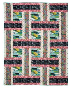 Qn11014 300 Eggs On Toast Quilt Kit From Keepsake Quilts