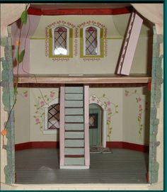 Doll house book with templates and by dollhouseprinties on etsy christmas sale doll house mouse dollhouse by papercottageprinties make this yourself from card stock and solutioingenieria Image collections